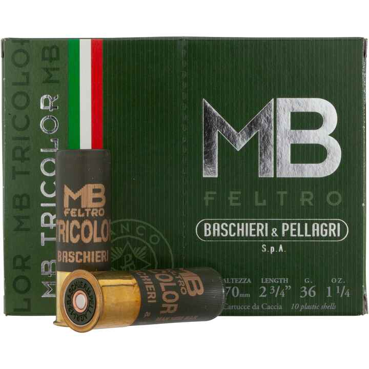 12/70, Tricolor (36gr-3,1mm), Baschieri & Pellagri