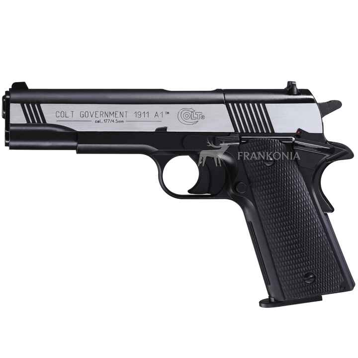 Pist. CO2 Government M1911 A1 / cal. 4,5 mm (.177) Diabolo, Colt