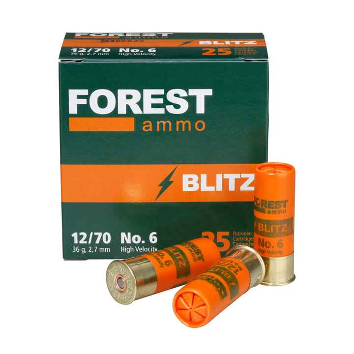 12/70, Blitz High Velocity (36gr-2,7mm), Forest Ammo