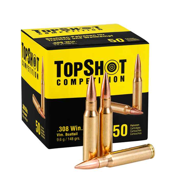 .308 Win., Blindée  (9,6gr), TOPSHOT Competition