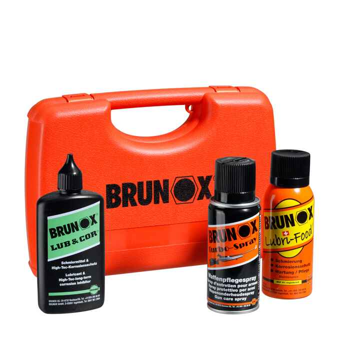 Set d'entretient Brunox, Box chasseur, BRUNOX