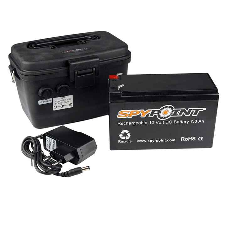 Batterie 12V pour caméras Spypoint, Spypoint