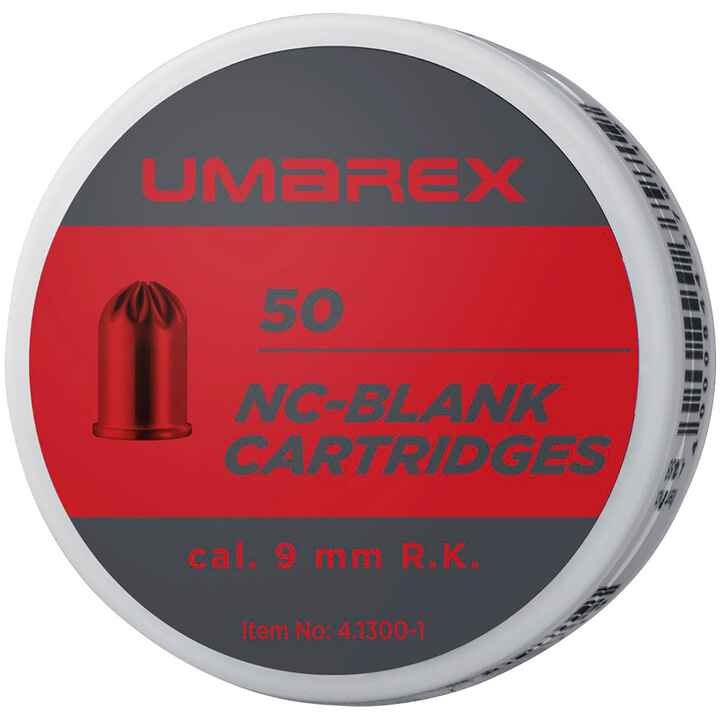 Cartouches à blanc 9mm RK, Walther