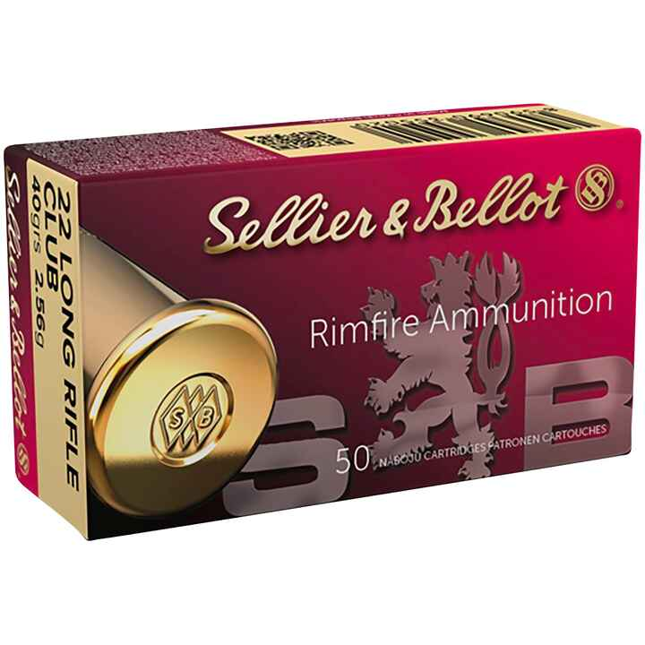 .22 Long Rifle, Club, Sellier & Bellot