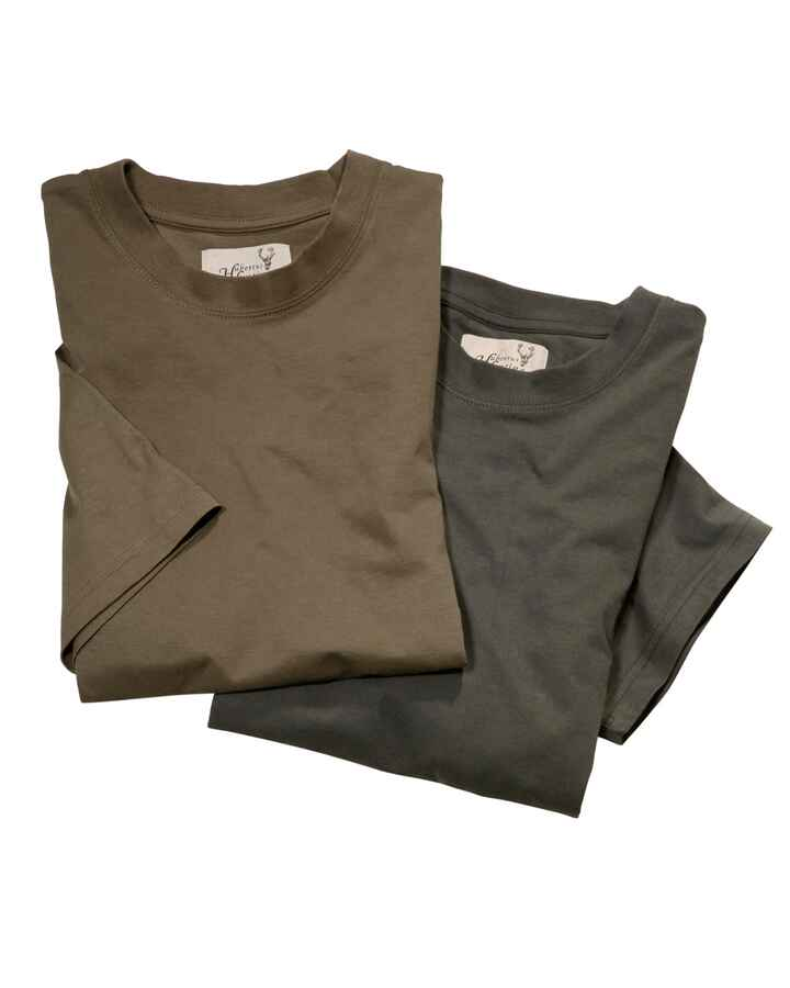 T-Shirt pack double, Hubertus