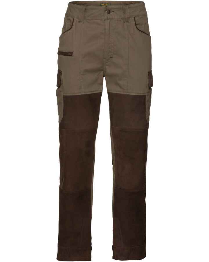 Pantalon de chasse Prestige light cuir + Canvas, Parforce Traditional Hunting