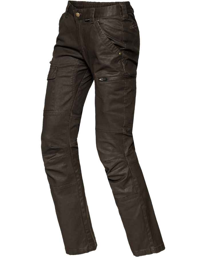 Pantalon dame Vintage Stretch, Chevalier